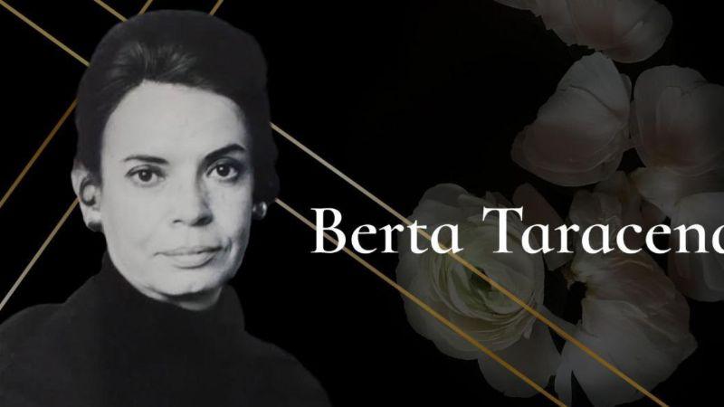 Falleció la historiadora y crítica de arte Berta Taracena a los 96 años