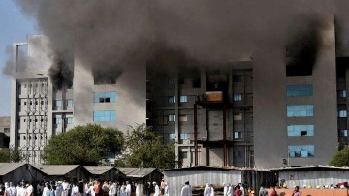 Incendio en fábrica que produce vacuna contra COVID-19 deja al menos 5 muertos
