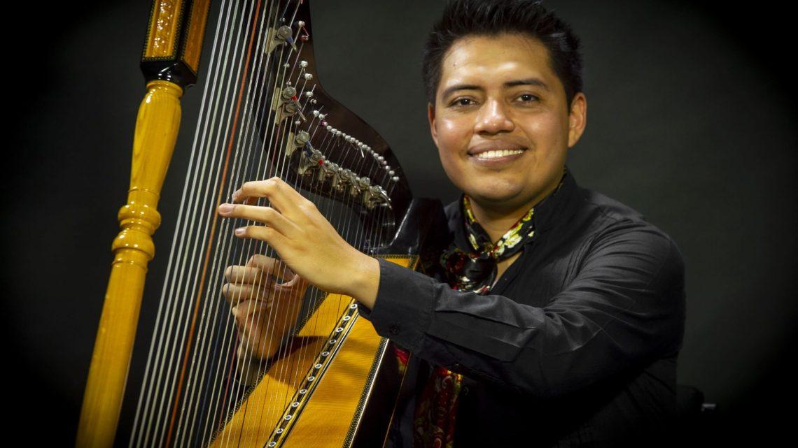 Concierto de Arpa con Rodrigo Vidal en Casa del Lago UV