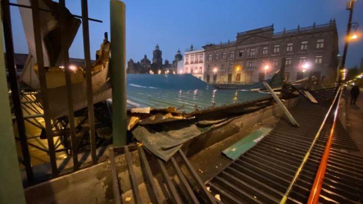 Templo Mayor no recibió daños graves tras derrumbe de techo, informa Cultura
