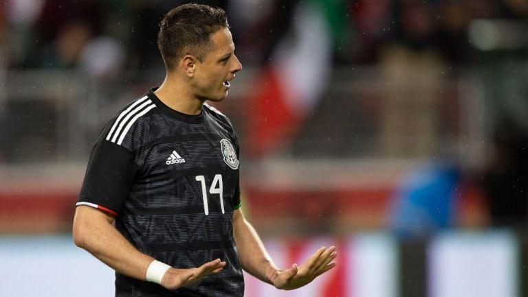 """Aún no me he retirado de la Selección recuerda """"Chicharito"""" Hernández al medio futbolístico"""