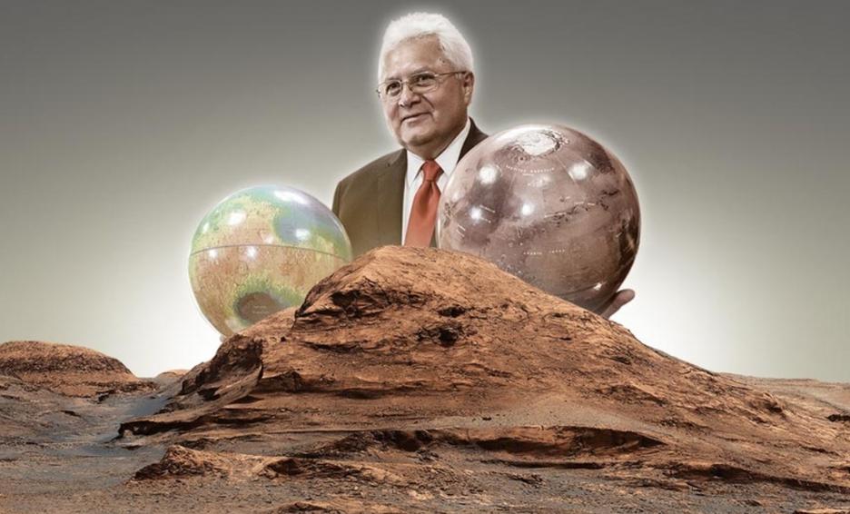 La NASA nombra Rafael Navarro a montaña de Marte, en honor a científico mexicano