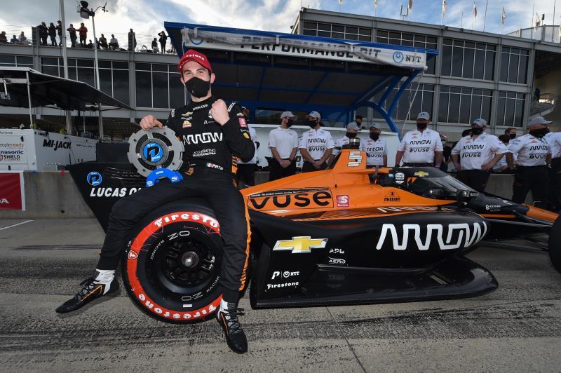 El mexicano O'Ward gana la pole en primera carrera del 2021; Palou, tercero