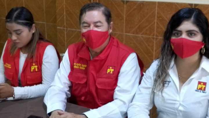 PT pide seguridad para actores del proceso electoral.