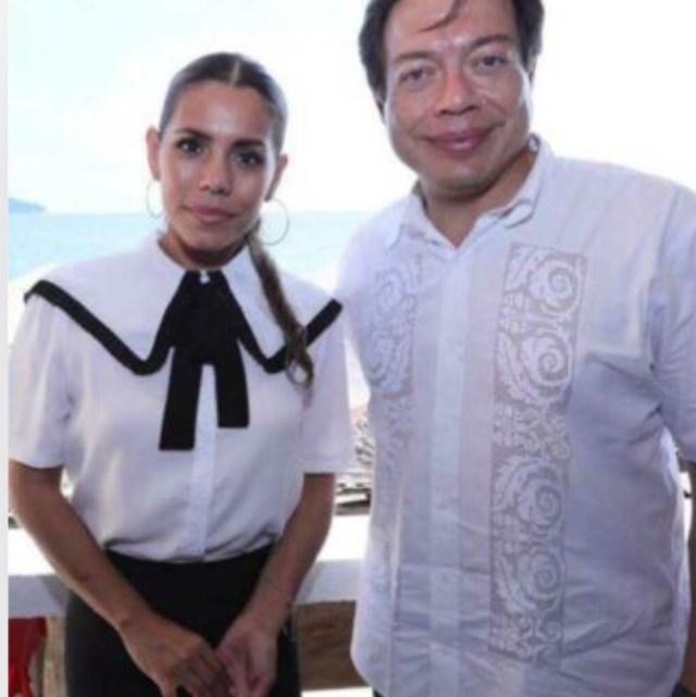 Evelyn, hija de Félix Salgado, es la candidata de Morena en Guerrero.