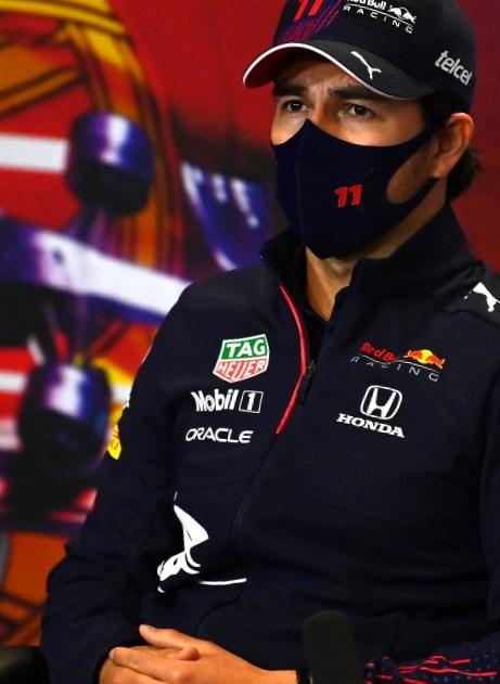 """""""Piloto del Día"""" Checo Perez en el GP de Portugal."""