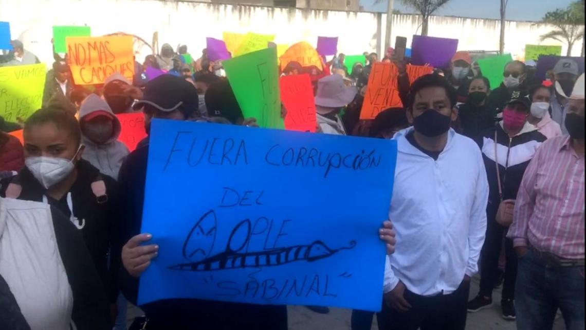 Piden morenistas recuento de votos en Perote