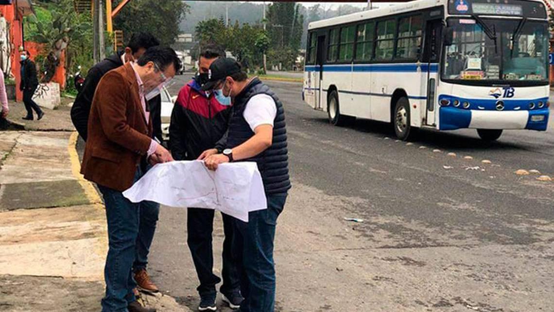 SIOP inicia rehabilitación de bulevar Xalapa-Banderilla