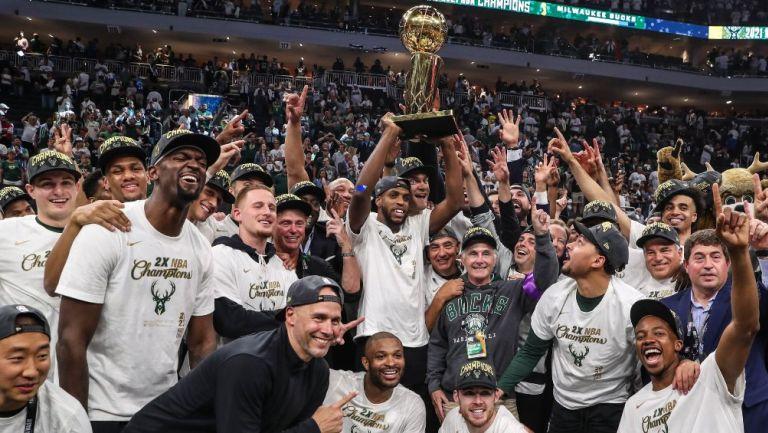 Tras 50 años los Bucks de Milwaukee se coronaron campeones de la NBA