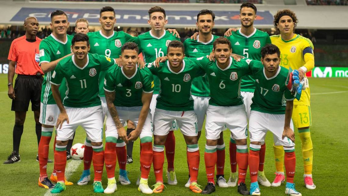 La selección de México se ubica en el top 10 de FIFA