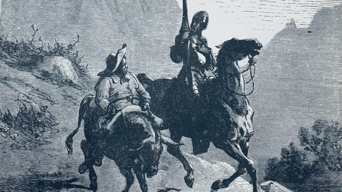 Reflexión para adictos a la lectura: Ingenioso Hidalgo, Don Quijote de la Mancha