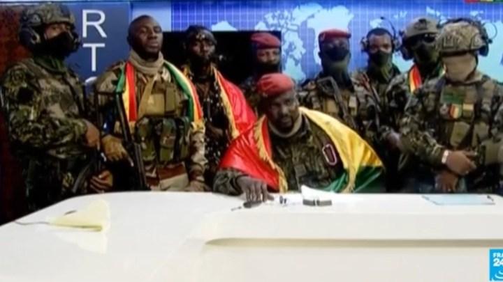 Golpe de Estado por militares en Guinea