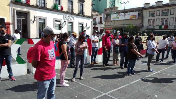 """Vecinos de """"EL Moral""""protestan por atropellamiento de un joven"""