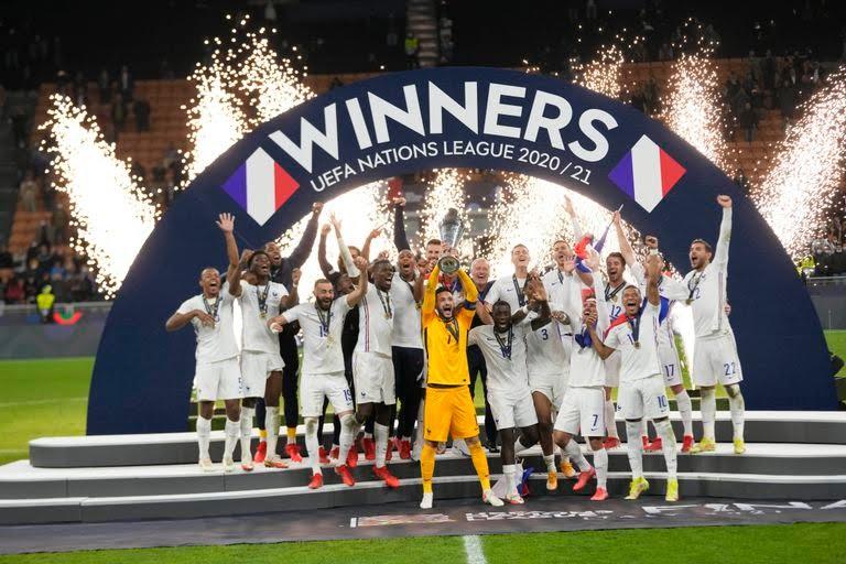 Francia se coronó campeón de la Copa de Naciones UEFA