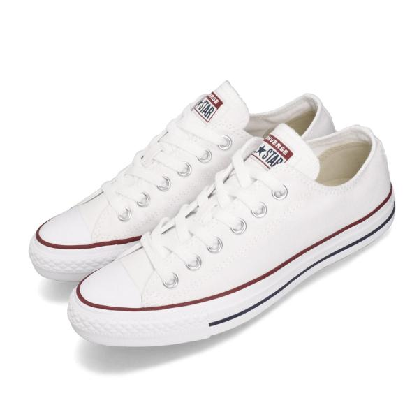 Converse All Star OX White Classic Men Low Top Sneakers