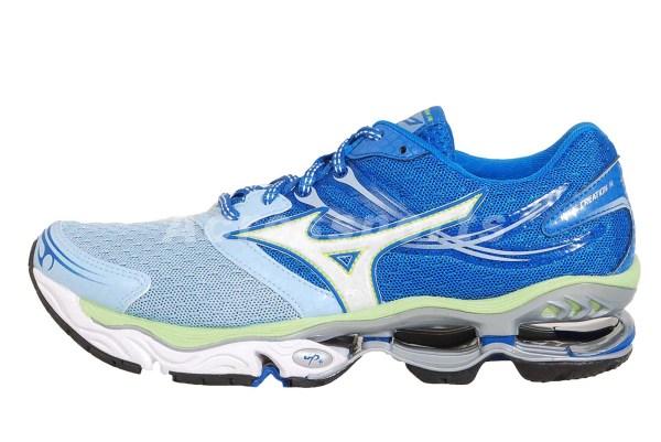 Mizuno Wave Creation 14 Blue Womens Running Shoes 8kn-30101