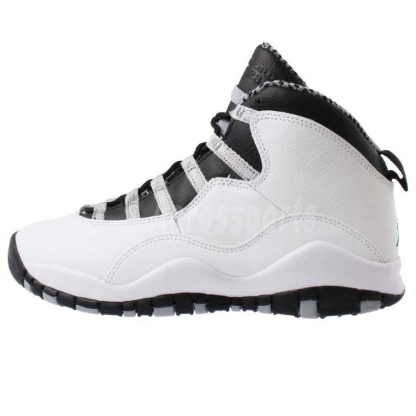 "Nike Air Jordan 10 Retro Gs X "" Steel Kids Girls Youth"