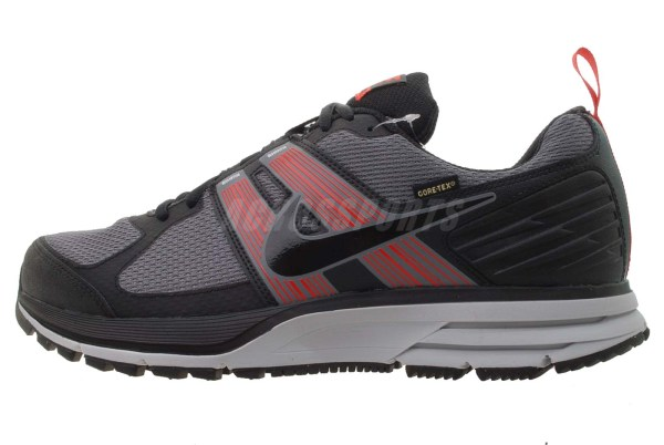Nike Air Pegasus 29 Gtx Gore-tex Dark Grey Red Mens