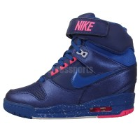 Nike Wmns Air Revolution Sky Hi Blue Pink 2014 Womens ...