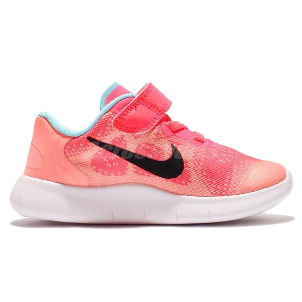 Nike Free Rn 2017 Tdv Run Racer Pink Toddler Baby Running