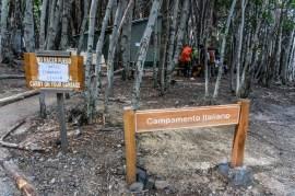 Campamento Italiano is closed