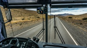 A drivers view