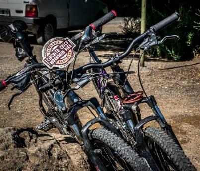 Rental mountain bikes