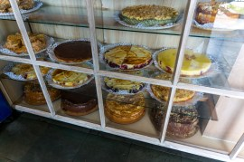 In this region with the German influences there are many cake shops that serve Kuchen (like an afternoon tea)