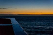 Sunset on the second night.