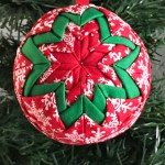 No Sew Quilted Christmas Ornament Across The Blvd