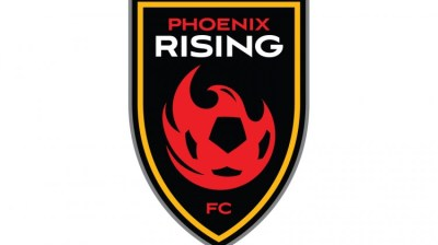 Phoenix Rising Logo and USL Four Corners Cup
