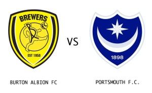 Burton Albion vs Portsmouth