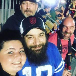 Phil Kennedy and Arran Airs at Phoenix Rising game with friends