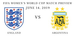 England vs Argentina Women's World Cup