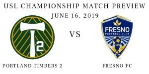 Portland Timbers 2 vs Fresno FC