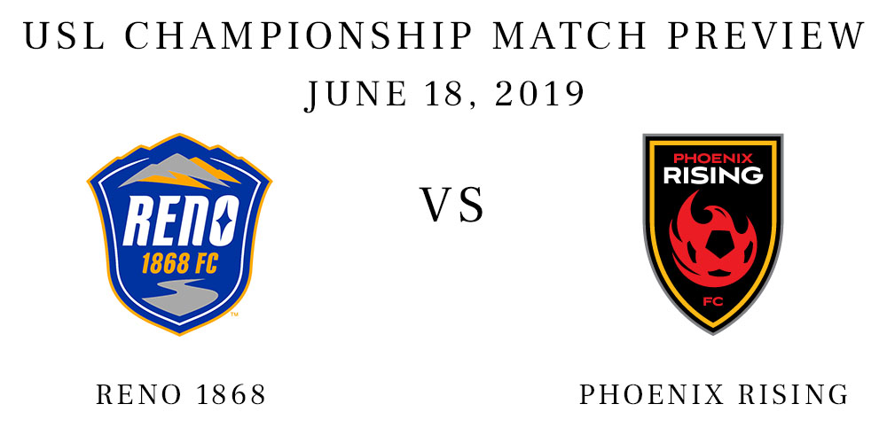 Reno 1868 vs Phoenix Rising