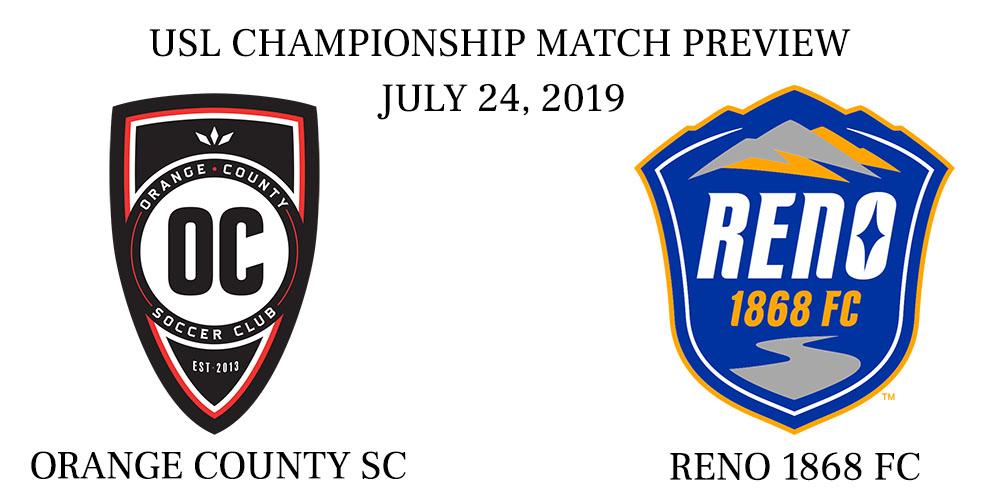 Orange County vs Reno 1868