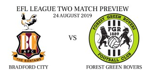 Bradford City vs Forest Green Rovers