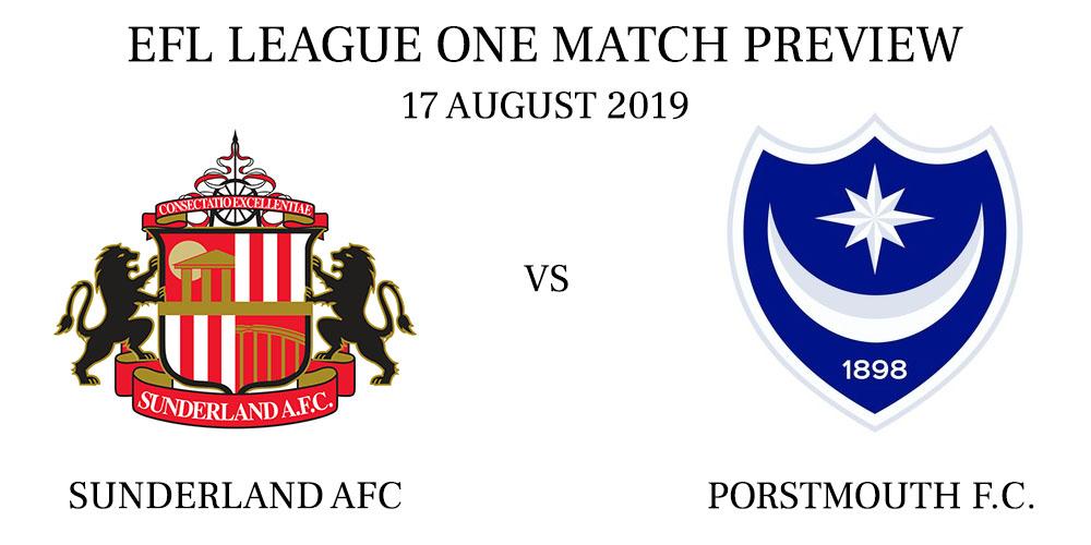 Sunderland A.F.C. vs Portsmouth FC August 2019