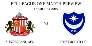 Sunderland A.F.C. vs Portsmouth FC August 2019