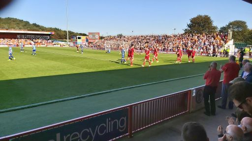 Accrington Stanley vs Blackpool September 2019
