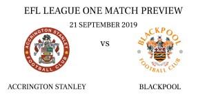 Accrington Stanley vs Blackpool