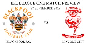 Blackpool vs Lincoln City