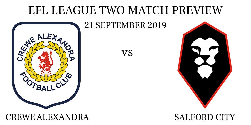 Crewe Alexandra vs Salford City