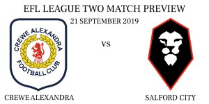 Crewe Alexandra vs Salford City