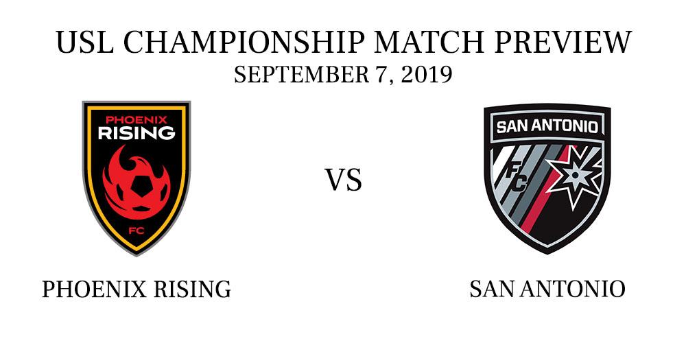 Phoenix Rising vs San Antonio