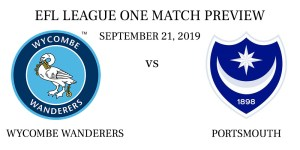 Wycombe Wanderers vs Portsmouth