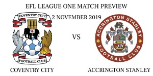 Coventry City vs Accrington Stanley