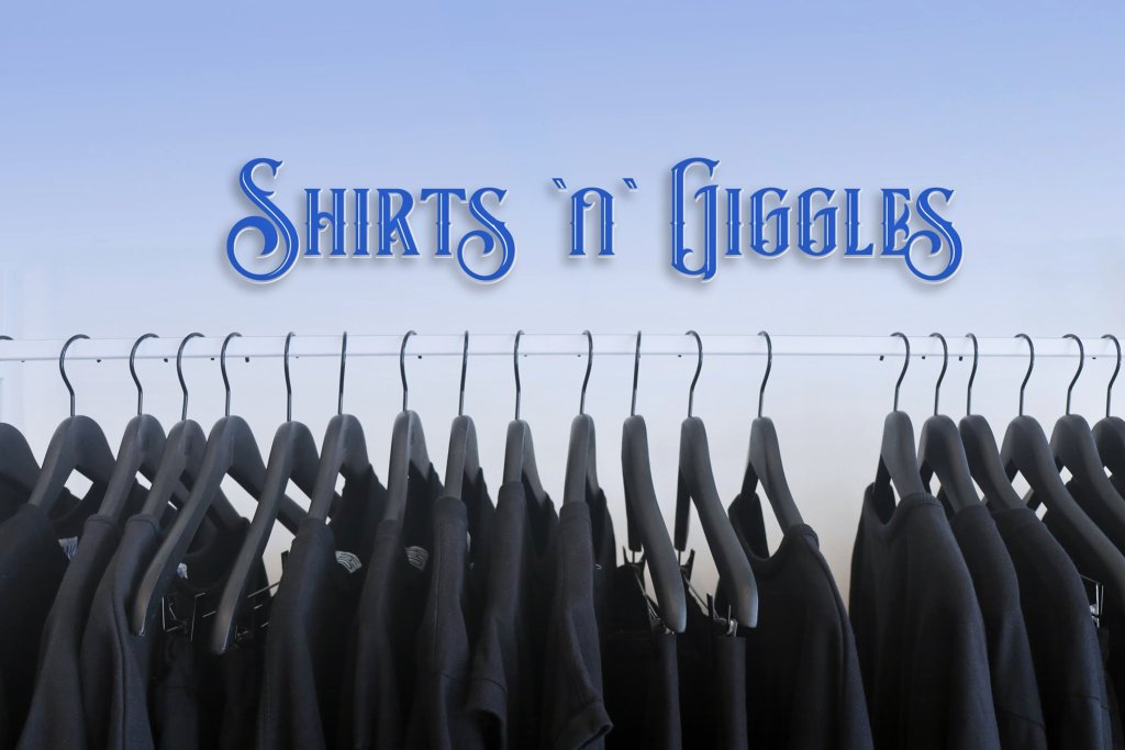 Shirts 'n' Giggles banner