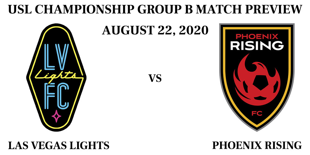 Las Vegas Lights vs Phoenix Rising August 2020